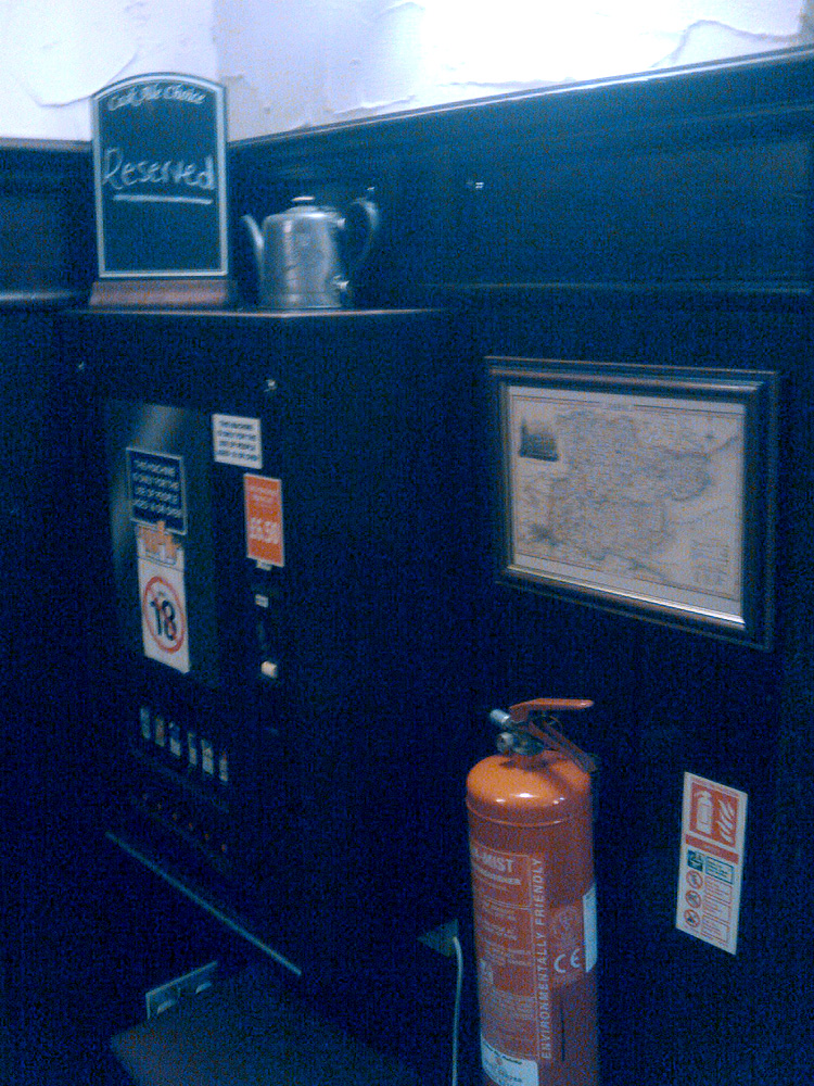 Cigarette Machine – Reserved, Just In Case