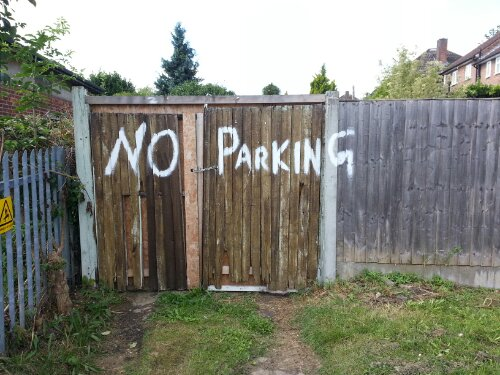 No parkin g