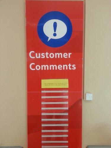 Customer Comment Tesco Barkingside