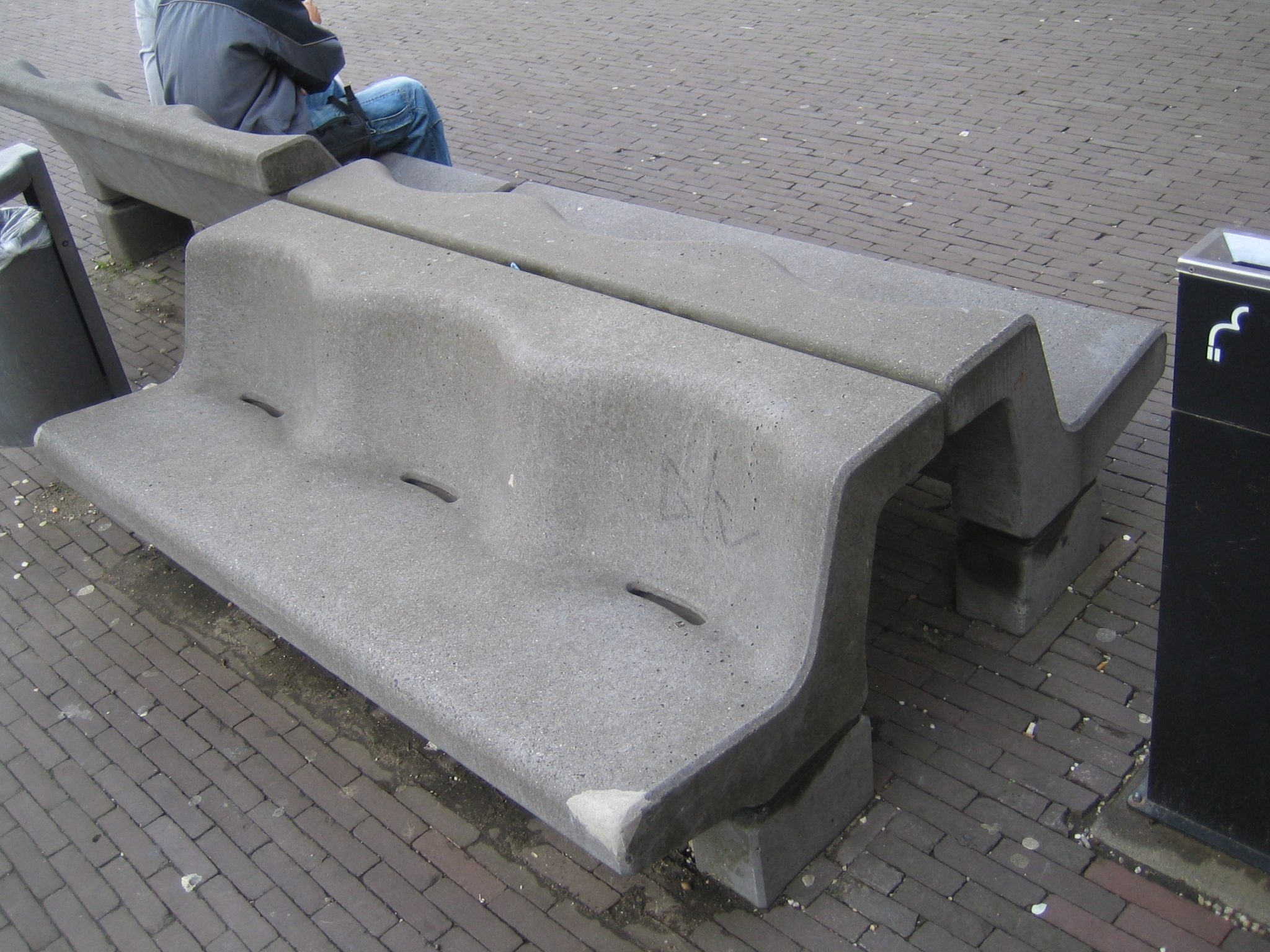 Beautiful German Concrete Bench