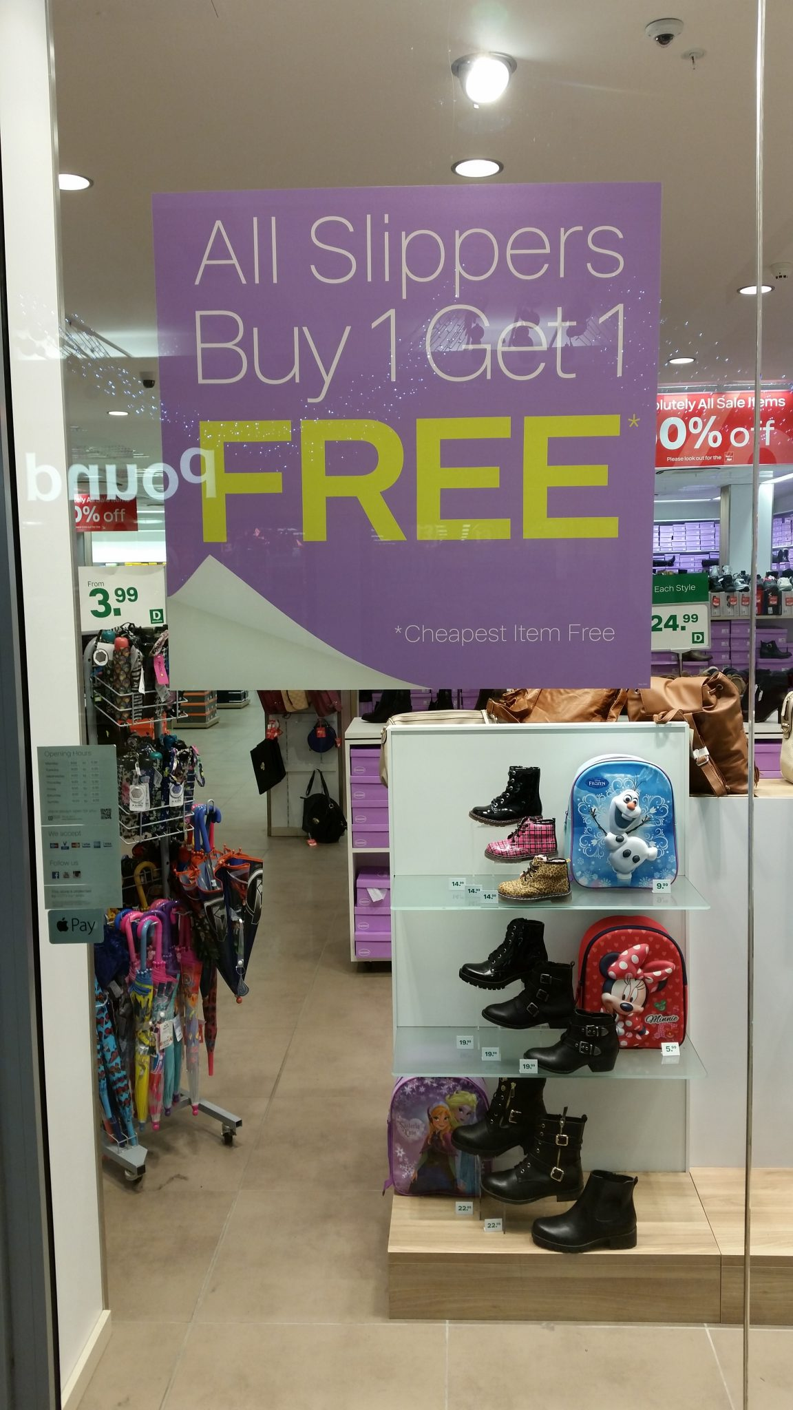 20151219 143701 e1452014922103 - Slippers, Buy one get one free! #slipper #offer #bogof